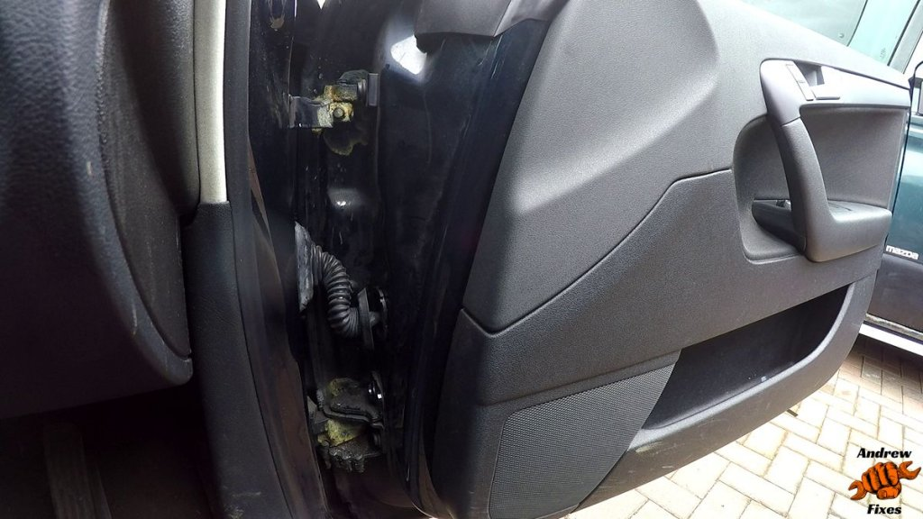 Picture of Audi A3 door wiring bellows