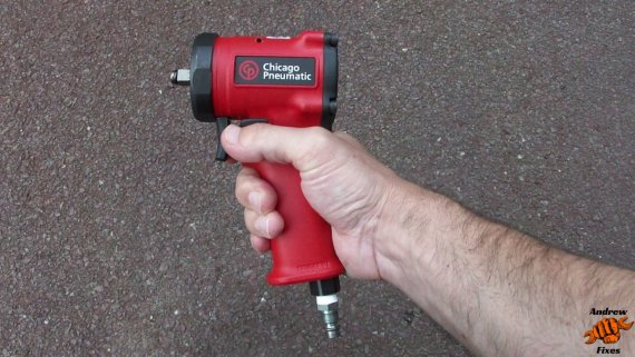 Picture of the Chicago Pneumatic 3/8 stubby impact wrench