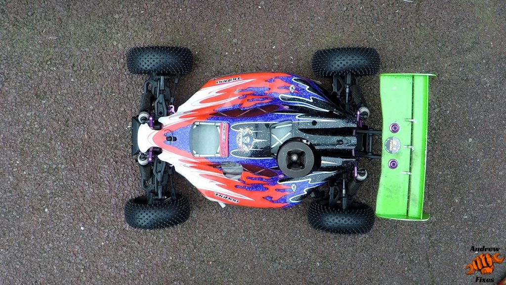Picture of a Hobao Hyper 7 1/8th scale nitro buggy